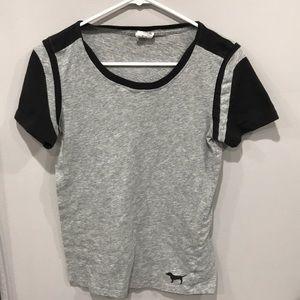 PINK Victoria's Secret gray T-shirt